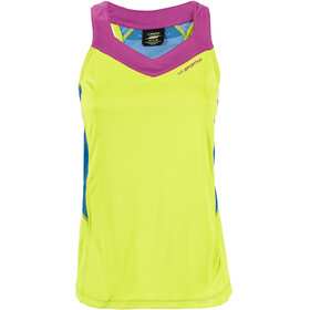 La Sportiva Joy Running Shirt sleeveless Women green/blue